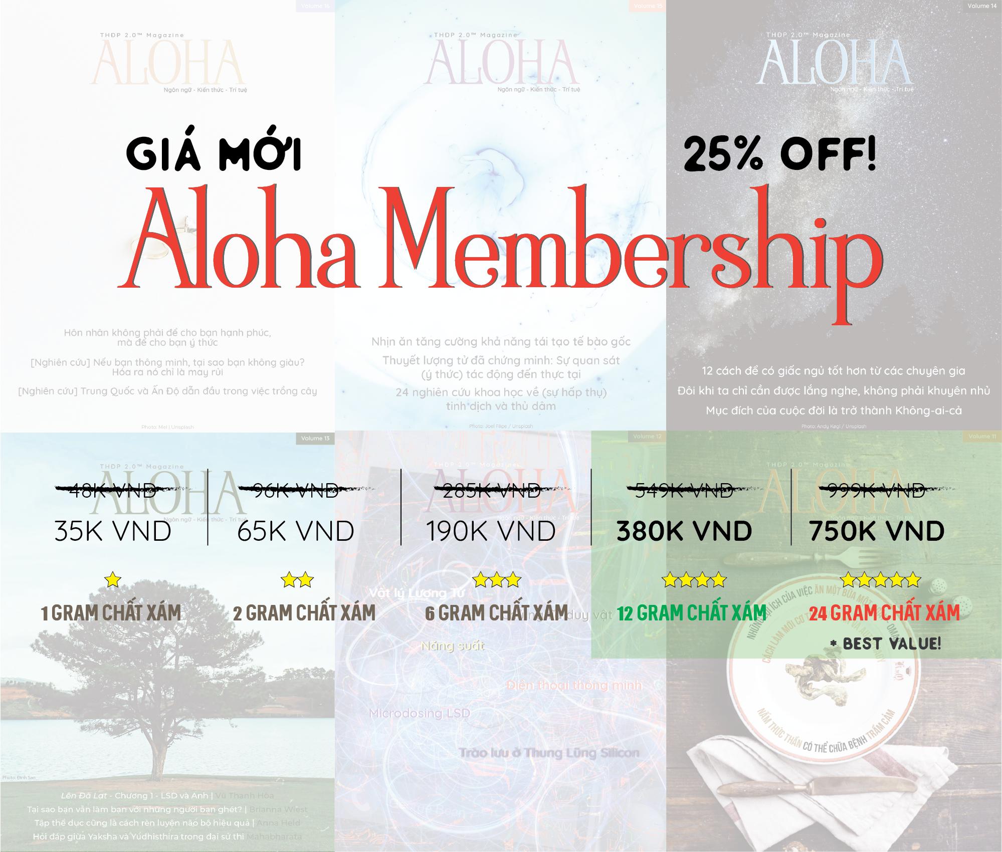 Aloha Sale